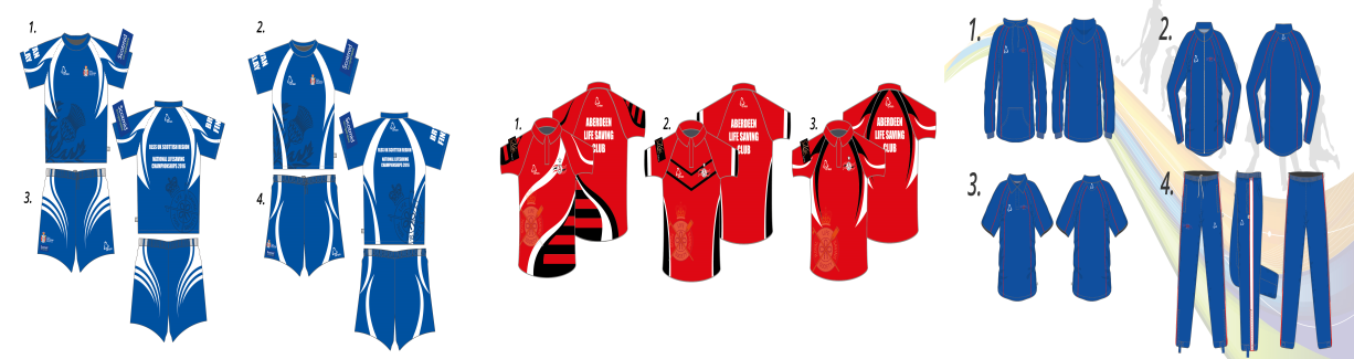 Sublimated & printed team kit available