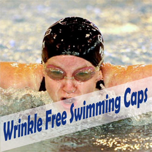 wrinkle free swimming caps